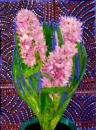 Hyacinths - Patterned Background